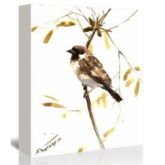 You'll love the Sparrow 5 by Suren Nersisyan Painting Print on Gallery Wrapped Canvas at Wayfair - Great Deals on all Décor & Pillows products with Free Shipping on most stuff, even the big stuff.