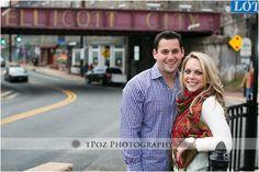 Ellicott City Engagement Photos :: Christa+Kevin