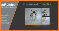 Ειδική κατασκευή Βραβείου από plexiglass και inox Κοπή με laser.  adSymbol Exclusive Gifts & Awards Designer Dim. Dimitriou