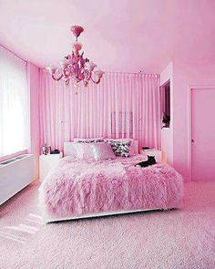 Interior architecture: awesome pink bedroom ideas at rooms for room decor and designs pink bedroom Pink Bedrooms, Girls Bedroom, Bedroom Decor, Bedroom Ideas, Trendy Bedroom, Barbie Bedroom, Feminine Bedroom, Luxury Bedrooms, Bedroom Colors