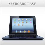 """ClamCase. This protective case serves as a BlueTooth keyboard and touchscreen stand.  Susan Berkowitz, SLP, prefers it to the Zagg Keyboard because """"ClamCase holds the iPad more securely"""".  This caught my eye since I have resorted to Velcro to keep iPADs from slipping out of the Zagg for my patients who use it on their laps .   ClamCase also offers a 360 degree hinge which would allow people to turn a messge window to face the communication partner as they type.  $140"""