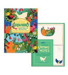 In the Meadow Stationary: How to Write a Letter Set—revive the beauty of personal correspondence with this lovely stationary set.