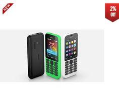#shopcluescoupon #online #shopping #offer #mobile Get 2% Off on Nokia 215 Dual SIM – Internet