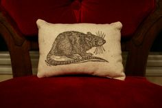 Rat Pillow by Horse and Hare — BELOW