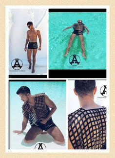 Chica Boon | Animal Soul Swimwear, la nueva colección de trajes de baños masculinos