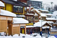 Kusatsu Onsen in Gunma prefecture is one of the best quality hot spring resorts in Japan. When winter comes, the snow covers the houses creating an amazing landscape. Visit Kusatsu Onsen and get warm in its wonderful hot springs!