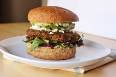 sweet miscellany: Pumpkin & Black Bean Burgers  Yum... Had this tonight but beans were a mix, there was no rice, and not as brger - side veggie....