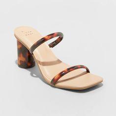Block Heel Shoes, Designer Heels, New Day, Fitness Fashion, Open Toe, Shoes Heels, Heeled Sandals, Footwear, Pairs