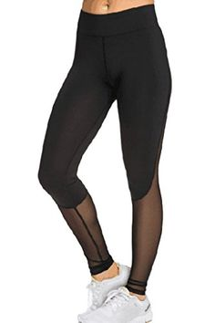 Dearlovers Women Slimming Sport Legging Long Pants with Mesh - http://darrenblogs.com/2016/06/dearlovers-women-slimming-sport-legging-long-pants-with-mesh/