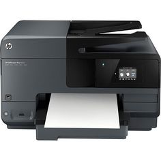 HP - Officejet Pro 8610 e-All-in-One Network-Ready Wireless All-In-One Printer - Black - Larger Front