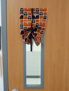 Classroom Window Curtain...want one for my classroom one day except KU of coarse!
