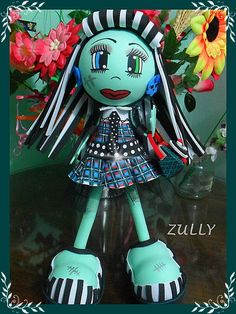 Monster high frankie de goma eva