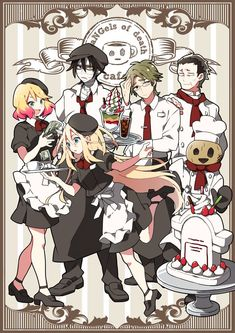 Angels of Death Cafe is Open . Try for free and Try to Survive =)