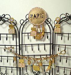 http://www.aaajewelrystore.biz/products/Vintage-Paris-Pave-Rhinestones-Brooch-Earrings-Charm-Bracelet-with-Pearls-/221083764