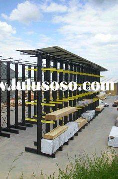 Lumber Storage Rack Plans Diy Firewood Wood