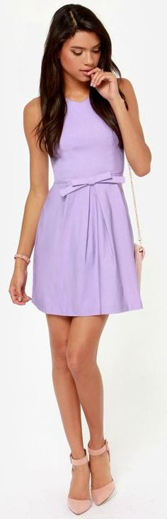 Girly Lavender Dress