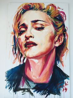 Painting of Madonna (SOLD)