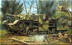 Italian sp assault gun captured by the Germans. Otto Carius, Tiger Ii, Military Art, Military History, Luftwaffe, German Soldiers Ww2, Tank Armor, Armored Fighting Vehicle, World Of Tanks