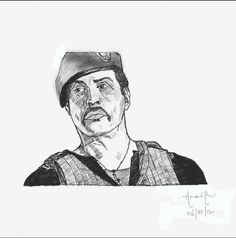 Digital Sketching,sylvester stallone,Expandables 2 - Digital Art by Ananth Yash in Digital Works at touchtalent 70992