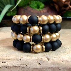 Bracelets – Page 26 – Finest Jewelry Diy Bracelets With Names, Black Bracelets, Stretch Bracelets, Handmade Bracelets, Jewelry Bracelets, Handmade Jewelry, Diamond Bracelets, Bangles, Semi Precious Beads