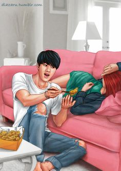 [NEVER DELETE] Bangtan x girlfriends (dlazaru)