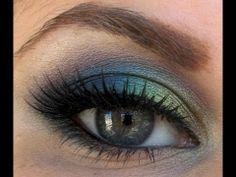 Peacock Makeup Tutorial / Maquillaje inspiración PAVO REAL. Muy pedido!!!