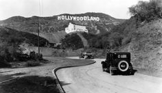 1923 - Original sign shortened to Hollywood in 1945