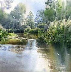 Michal Suffczynski / Poland #watercolor jd