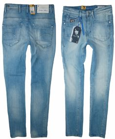 Genuince G-Star RAW 3301 Tapered Jeans Womens Jeans Jeans for Women COLOUR-light aged destroy