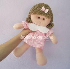 Boneca para Nicho em Feltro 30cm