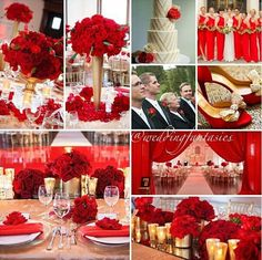 Red and gold wedding decorations i do 2 u again wish list pretty red wedding theme red and gold junglespirit Images