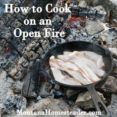 Cooking on an open fire in a cast iron pan conjures up images of rugged old west cowboys sitting around a campfire under the starry Montana sky. Cooking on an open fire isn't just for old west cowboys and isn't a thing of the past! In fact, it is quite easy to do and adds an element …