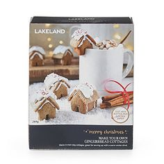 Lakeland Make-Your-Own Gingerbread Cottages Kit - from Lakeland