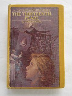Nancy Drew The Thirteenth Pearl Vintage Carolyn Keene Hardcover Book Nancy Drew Series, Nancy Drew Books, Nancy Drew Mystery Stories, Old Toys, My Books, Pearls, Boys, Vintage, Baby Boys