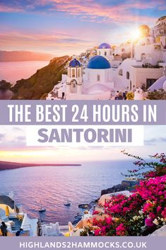 This Santorini itinerary shows you the best of Santorini in 24 hours. We travelled around all of the best sights in Santorini on a quadbike. One of our favourite places to visit is Oia, in our opinion, the best place to watch the sunset in Santorini. #santorinigreece #santorinigreeceaesthetic #santorinigreecethingstodo #santorinigreecephoography #santorinioia #santorinisunset