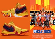 b45d77ffdf90 Nike Kyrie 4 Uncle Drew 943807-700 Release Info
