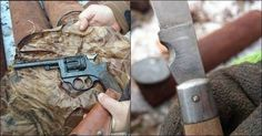World war II weapons found by treasure hunting metal detectorist in England