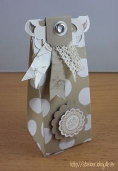 stampin up, little boxes