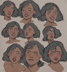 too many tylers by Pheberoni on DeviantArt . Character Drawing References