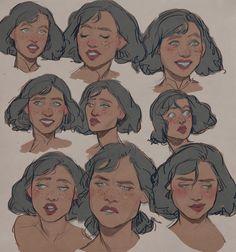 Drawing Cartoon Faces Sketches Deviantart New Ideas Character Design Cartoon, Character Design References, Character Drawing, Character Design Inspiration, Character Sketches, Animation Character, Character Reference, Character Design Tips, Character Portraits