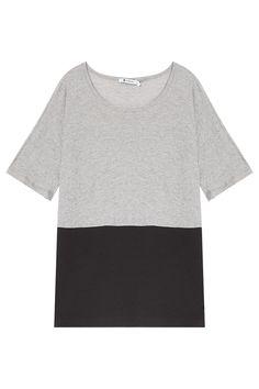 Pima Cotton Combo T-shirt By #TBYALEXANDERWANG @ http://www.boutique1.com/