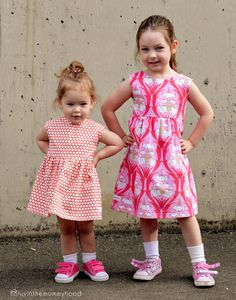 Sweetheart Dress Sewing PDF PATTERN for Girls 2T-6T. $9.95, via Etsy.