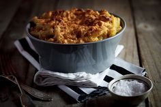 Beer & Bacon Mac and cheese -- Three of my favorites together in one dish!