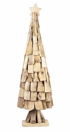 D co no l fabriquer 45 id es pour une f te inoubliable - Arbre de noel en bois flotte ...