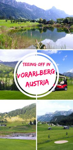 Golf clubs in Vorarlberg, Austria. A guide to travelling in the region during summer with where to eat and sleep plus the best hiking trails. Click to see a review of Golf Club Lech, Golf Club Brand and Golf Club Bludenz-Braz.  Golf holidays | Female golfers | Mountain holidays | Skiing | Golf resorts | Austrian holiday | Austria travel | Nature | Austrian landscapes