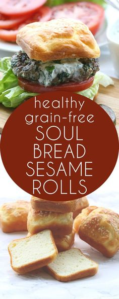 Possibly the best low carb bread recipe yet. Have you tried Soul Bread? These make great buns for burgers and sandwiches!