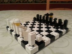 Picture of Lego Chess! for z make a chess set
