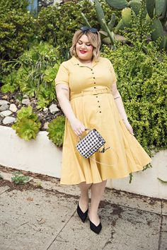 Plus Size Outfits Rock Plus Size Fashion For Women Winter Plus Size Outfits For Going Out Flattering Plus Size Dresses, Plus Size Outfits, Trendy Plus Size Fashion, Curvy Fashion, Dress Outfits, Fashion Outfits, Womens Fashion, Work Outfits, Fashion Tips