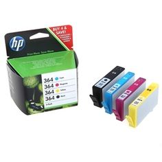 Hewlett Packard HP 364 Ink Jet Cartridge Combo Pack (SD534EE)