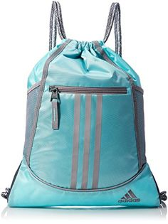 adidas Alliance II Sackpack (Onix/Siesta/Shock Mint) Bags ($13 ...